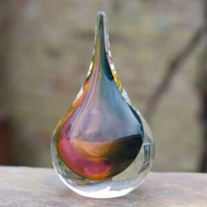 Glazen Druppel Marseille 16 cm