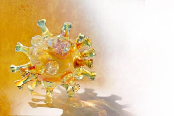 Glass Corona Covid-19