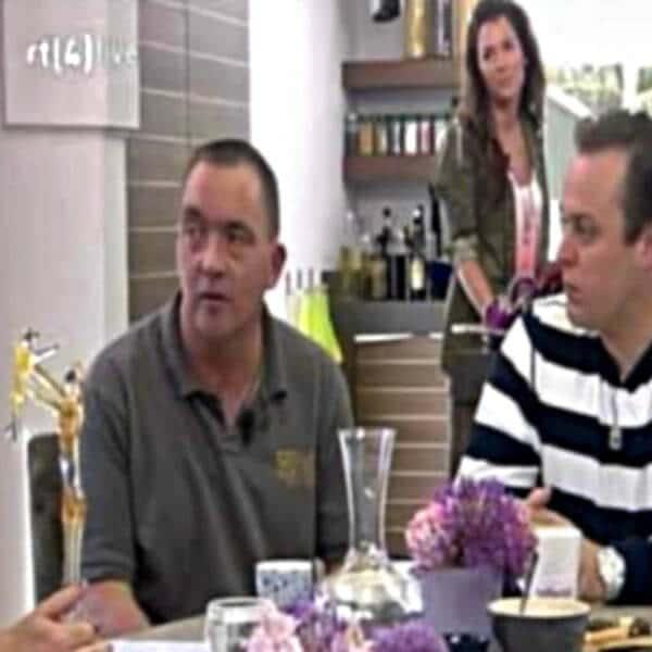 Koffietijd RTL4 Glasblazer Alwin Overwater