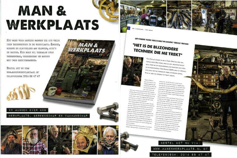 Man & Werkplaats - Otto Kalkhoven & Thelma Egberts