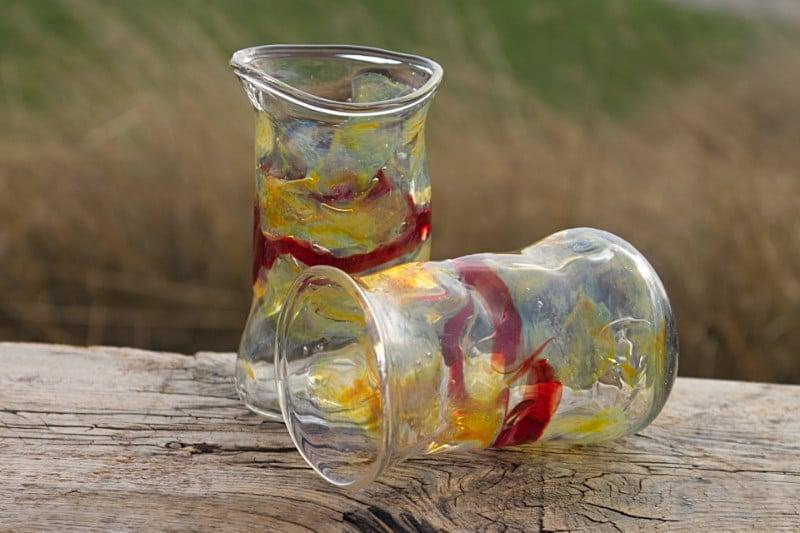 Waterglas Librije Rood