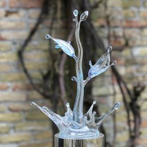 Sculptuur VNSWB - Afscheid Hans Dolman